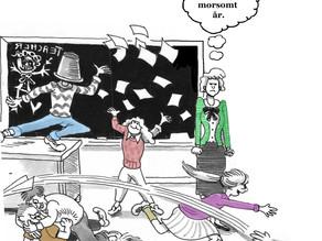 Varsleren Malkenes og hans elever