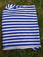 jersey marinière, bleu et blanc