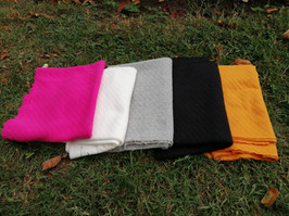 molleton:rose, blanc, gris, noir, jaune moutarde