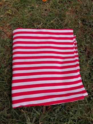 jersey marinière, rouge et blanc