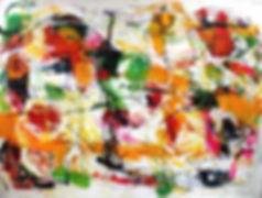 Josiane Ulrich artiste peintre abstrait