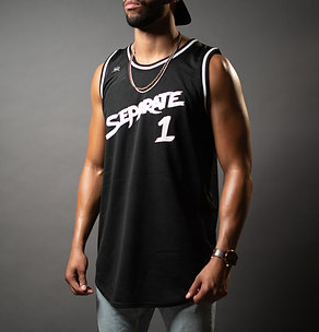 Black | Separate | Basketball Jersey