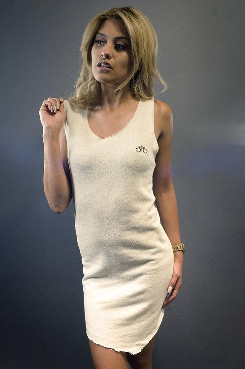 OFF-WHT | Teardrop Dress