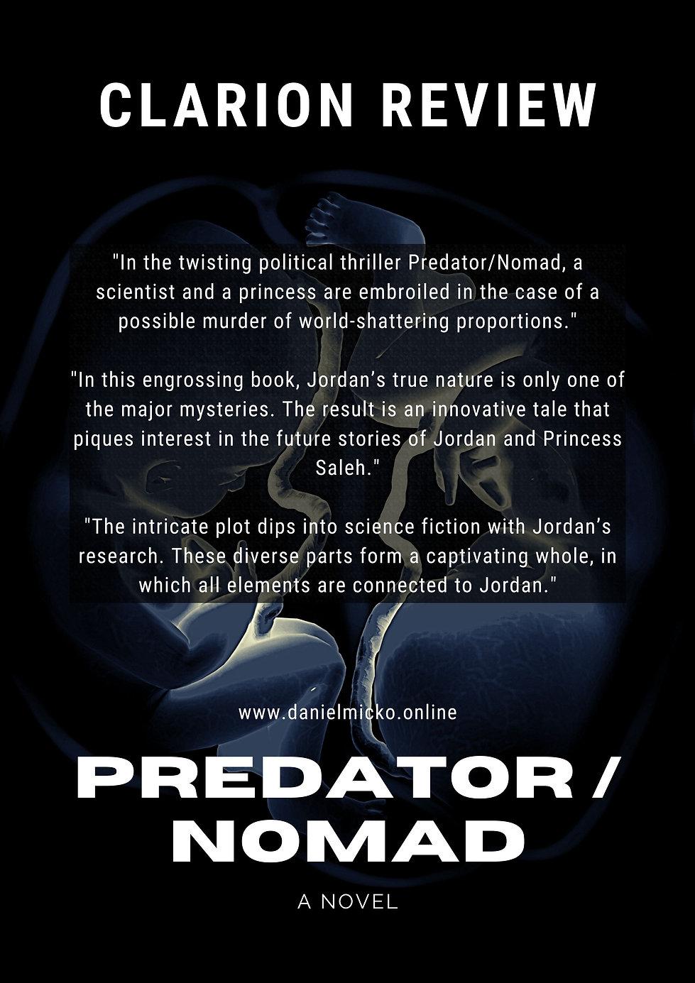 Predator / Nomad week 9