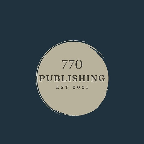 770 Publishing TAN STICKER