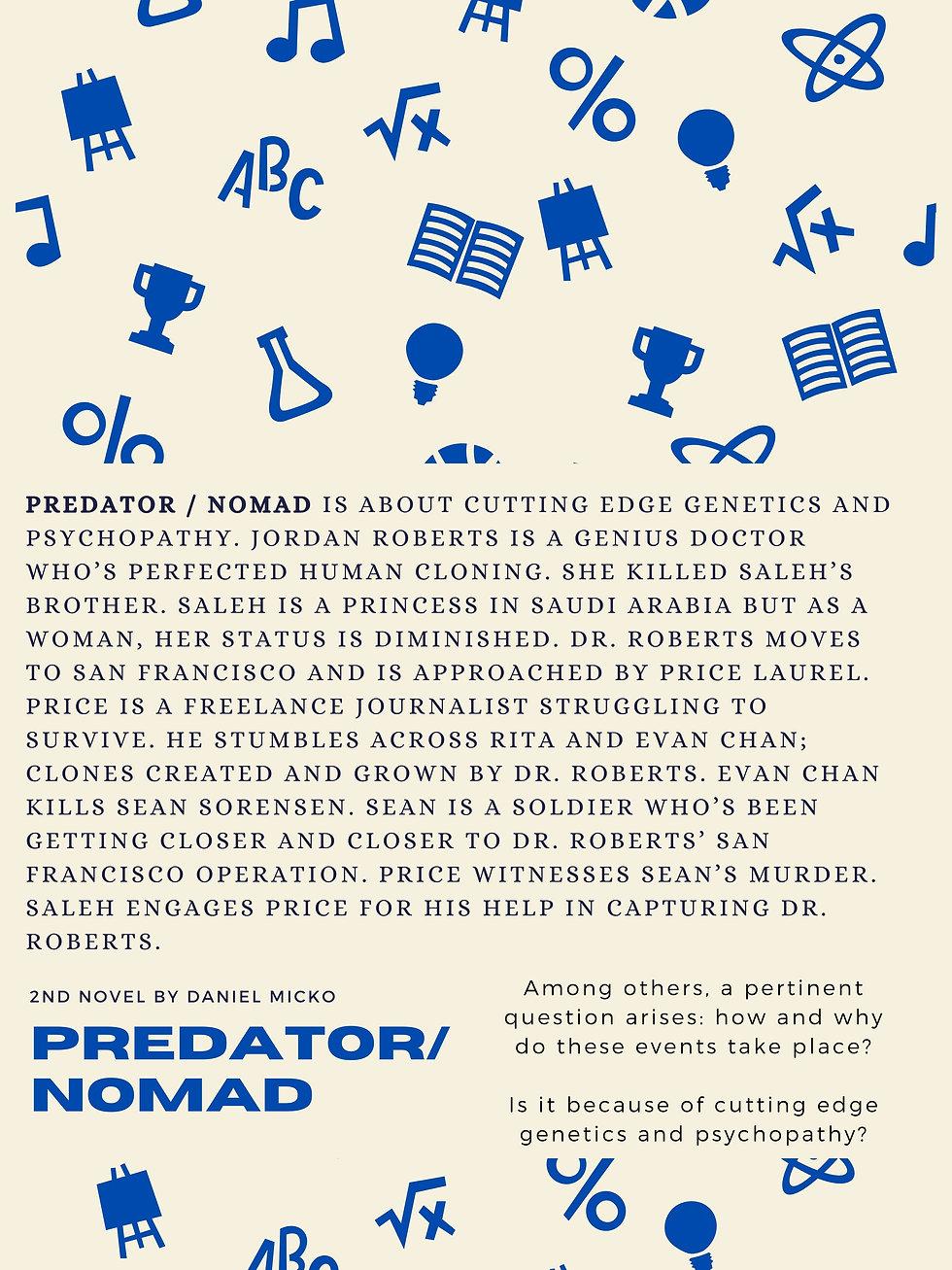 Predator / Nomad week 2