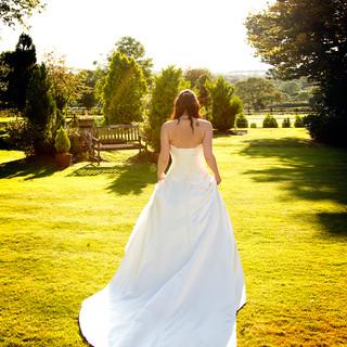 24 Bride at golden hour