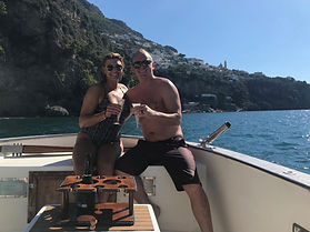 fishing positano
