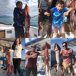 giant squid fishing positano