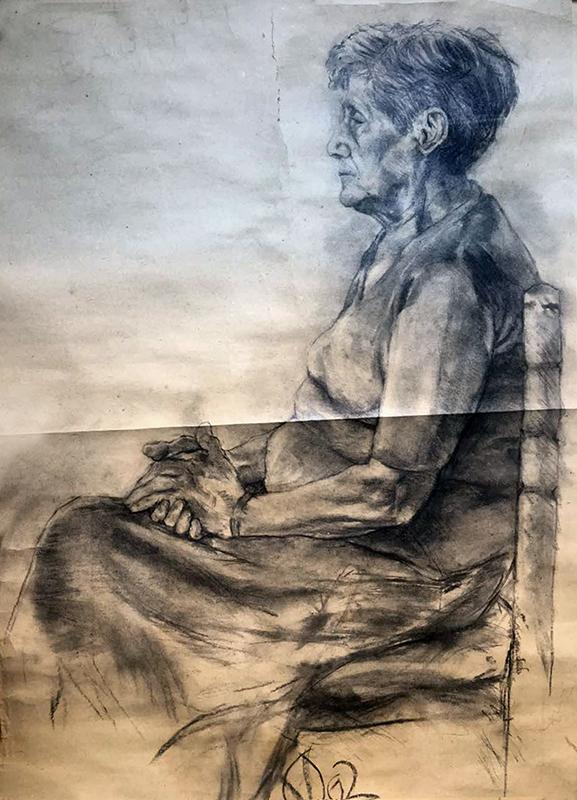 Vlada - old woman study
