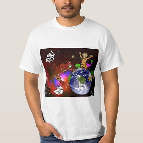 The Ugga Universe White T