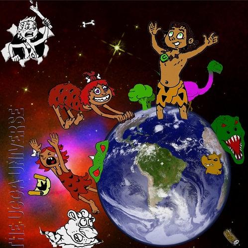 "The Ugga Universe 20"" X 20"" Poster"