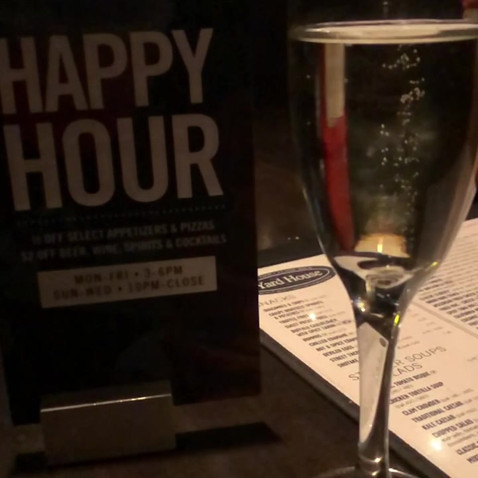 Happy Hour Social Media Post