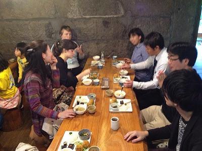 交流会@むすびカフェ千人の蔵
