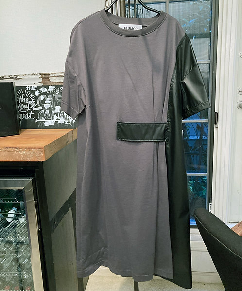 Side flare design dress