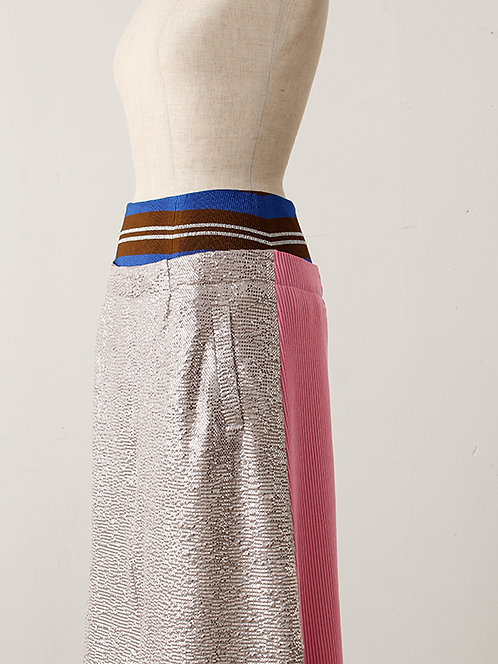 Imported Shiny Dot Print  Skirt