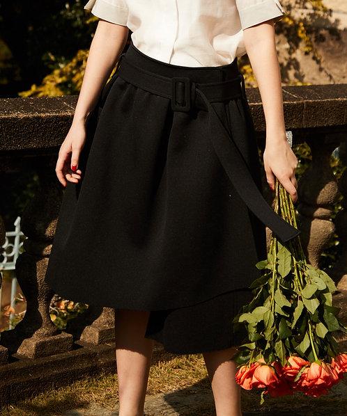 Hard double asymmetry skirt