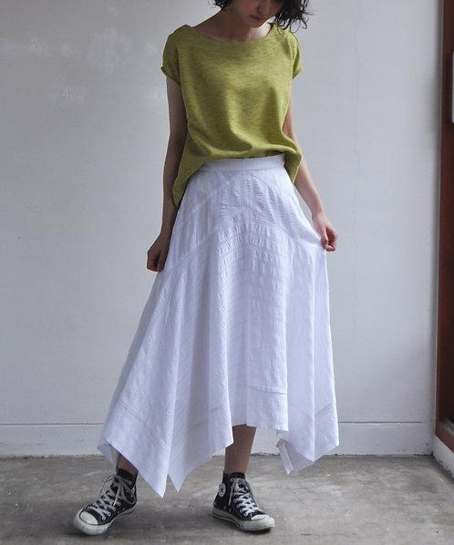 Import sheer border skirt