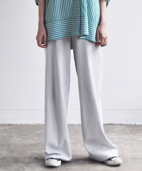 Surf knit straight pants