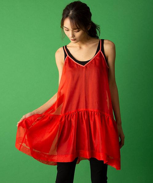 Chiffondy camisole dress