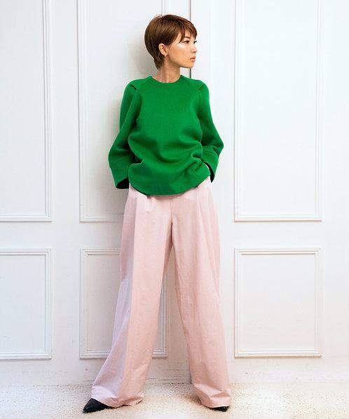 Melton minimal pullover