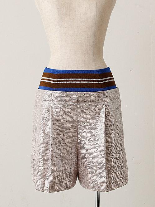 Import Shiny Dot Print Shorts