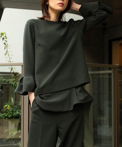 Double cross raffle pullover