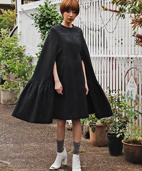 Import bonding cape coat dress