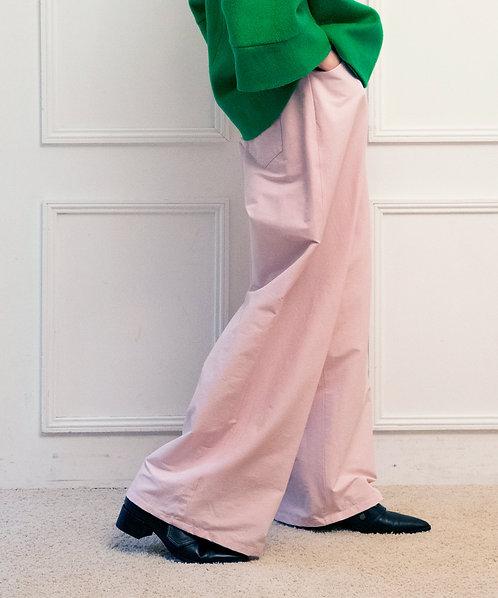 Double button wide pants