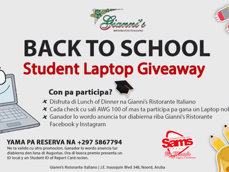 Gianni's Group Back to School Student Laptop Giveaway!