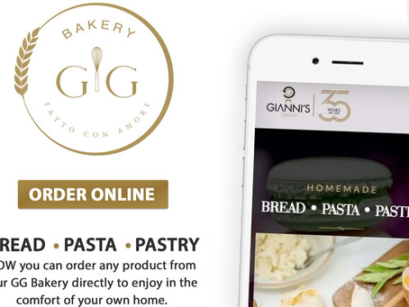 ORDER ONLINE NOW FROM Gianni's Group Bakery!