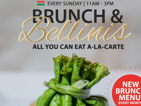 Sunday Brunch & Bellinis 𝘼𝙡𝙡 𝙔𝙤𝙪 𝘾𝙖𝙣 𝙀𝙖𝙩 only at Gianni's Ristorante Italiano!