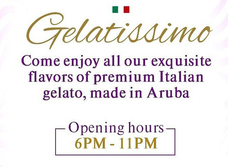 Gelatissimo Corner NOW OPEN in front of Gianni's Ristorante Italiano!