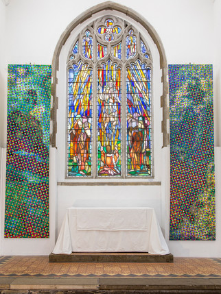 East Window with Abstract Figures (site specific)