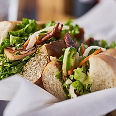 Vegan BBQ Pork Sandwich