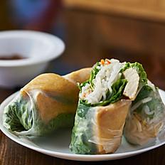 Vegan Tofu Spring Rolls, 2 pc