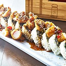Vegan General Tsao Shrimp Roll