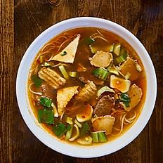Spicy Lemon Grass Rice Noodle Soup