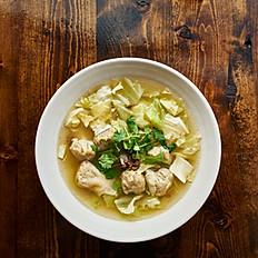 Vegan Wonton Noodle Soup