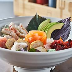 Vegan Chirashi Bowl