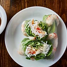 Vegan Shrimp Spring Rolls, 2 pc