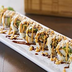 Vegan Sesame Crunchy Shrimp Roll