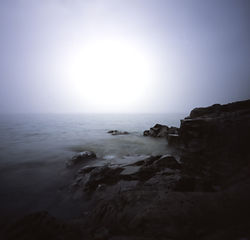 Lake Superior fog, Split Rock Point, Minnesota  2015
