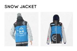 Snow Jacket for School