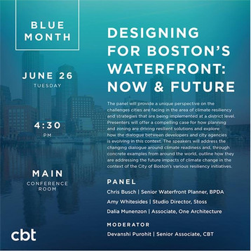 Blue Month Panel