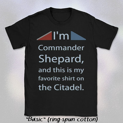 """Shepard's Favorite Shirt"" Tee (Short Sleeve Unisex Crew Neck)"