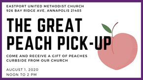 The Great Peach Pick-Up of 2020