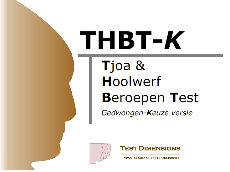 The Tjoa & Hoolwerf Professions Test - THBT