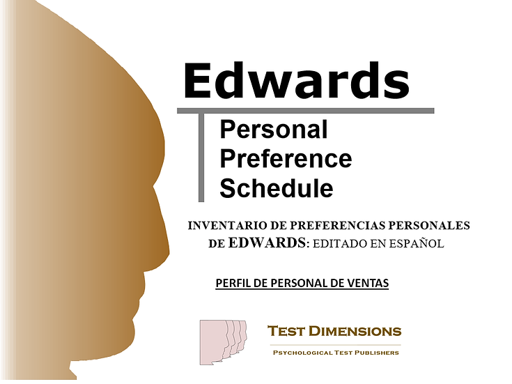 EPPS Perfil de Personal de Ventas