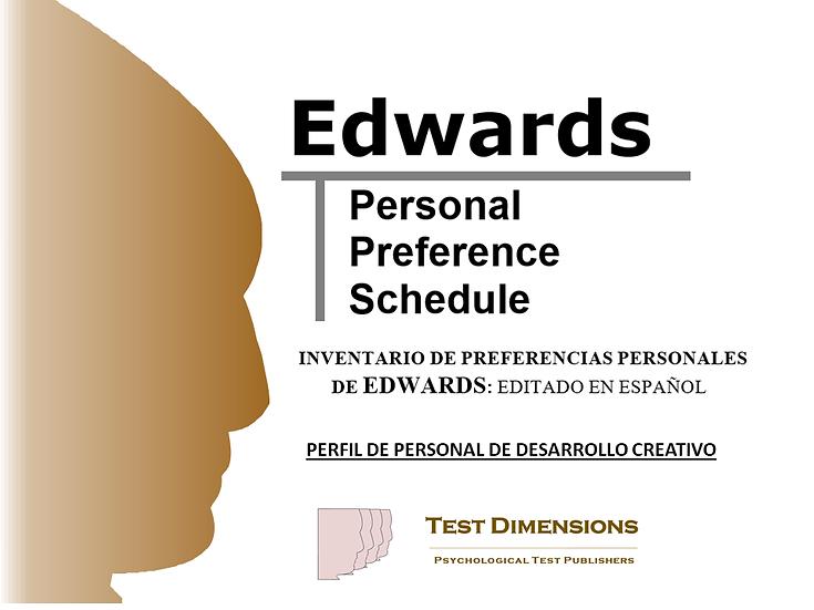 EPPS Perfil de Personal de Diseño/Desarrollo de Productos/Servicios
